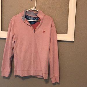 Mens quarterzip pullover size m